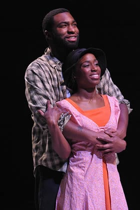 Robert Lee Hardy and Felicia Curry (Photo: Stan Barouh)