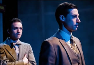 (l-r) Stephen Russell Murray and Alex Mandell as Leopold and Loeb in the (Photo: Teresa Castracane)