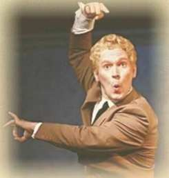 Brian Childers as Danny Kaye (Photo courtesy of American Century Theater)