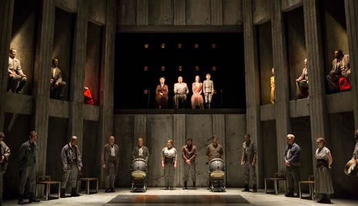 The cast of Coriolanus (Photo: Scott Suchman)