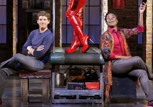 Stark Sands & Billy Porter in 'Kinky Boots' (Photo: Matthew Murphy)