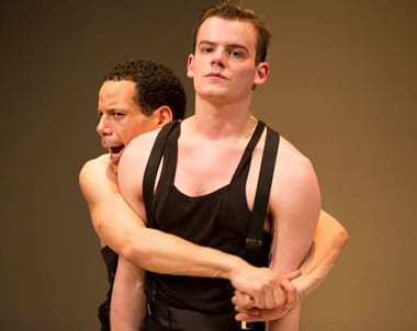 (l-r) Jon Odom (Jim) Alex Mills (James) in 2-2 Tango (Photo: Scott Suchman)
