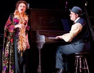 Alyson Cambridge as Julie (Photo: Scott Suchman)