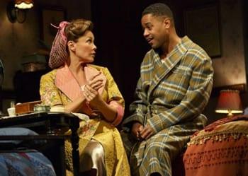 Vanessa Williams as Jessie Mae Watts, Cuba Gooding, Jr. as Ludie Watts (Photo: Joan Marcus)