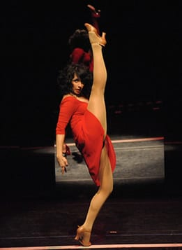 Michelle Aravena as Cassie  (Photo by Stan Barouh)