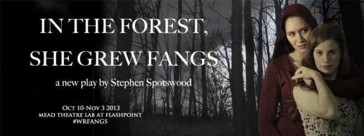 In the Forest She Grew Fangs