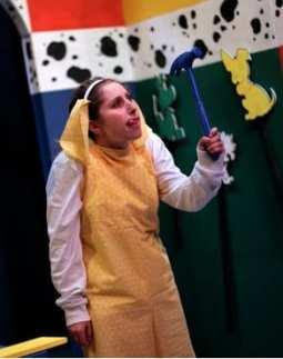 Sherry Berg as Yellow Dog (Photo: NextStop Theatre)