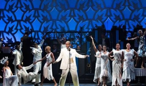 Dule Hill and the ensemble of After Midnight
