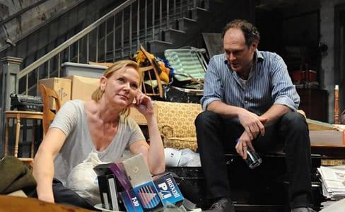 Deborah Hazlett and David Bishins (Photo: Stan Barouh)