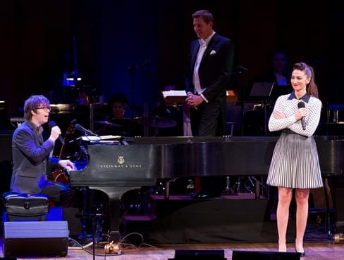 Ben Folds, Maestro Steven Reineke and Sara Bareilles (Photo: by Scott Suchman)