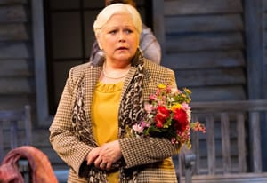 Florence Lacy as The Woman with Flowers (Photo: Teresa Wood)