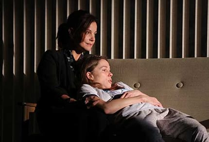 Margaret Colin and Kristen Bush (Photo courtesy of Manhattan Theatre Club)
