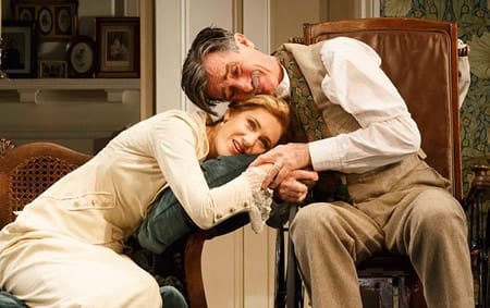 Charlotte Parry and Roger Rees (Photo: Joan Marcus)