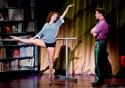 Jillian Mueller as Alex and Matthew Hydzik as Nick Hurley (Photo: Jeremy Daniel)