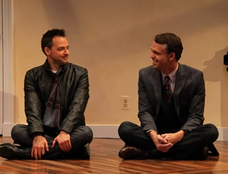 (l-r) Marcus Kyd (Curtis) and Brandon McCoy (Brian)  (Photo:  Danisha Crosby)