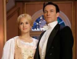 Carrie Underwood as Maria and Stephen Moyer as Captain Von Trapp