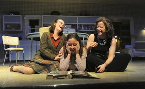 Beth Hylton as Lenny, Dorea Schmidt as Babe and Megan Anderson as Meg. (Photo: Stan Barouh)
