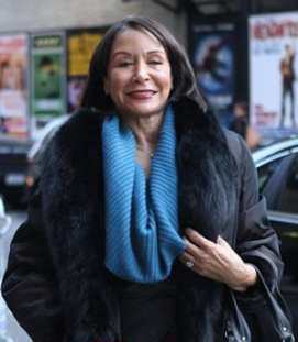 Freda Payne in New York (Photo courtesy of ContactMusic.com)