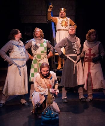 King Arthur,  the Knights of the Round Table and Patsy (Photos by Kirstine Christiansen)