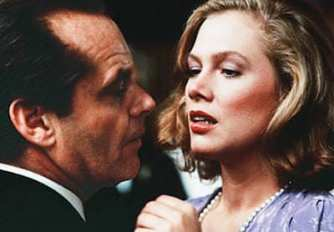 Kathleen Turner with Jack Nicholson in Prizzi's Honor