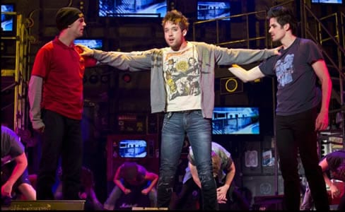 Dan Tracey as Tunny, Jared Nepote as Johnny and Casey O'Farrell as Will (Photo: Jeremy Daniel)