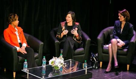 Board Symposisum - Sonya Halpern - Wendy Nelson - Victoria Sharp (Photo: Yassine El Mansouri)