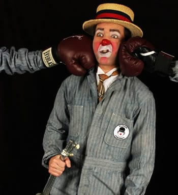Matthew Pauli is also one of the founders of the Monday Night Clown Cabaret at Fort Fringe. Next shows start April 10th.