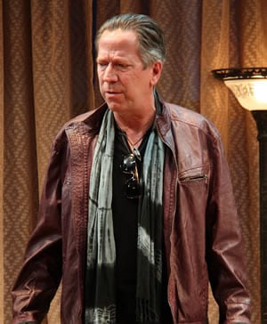 Marty Lodge as  Leonard in Seminar (Photo: Danisha Crosby)