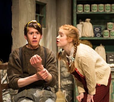"Robert Grimm as Billy and Megan Graves as ""Slippy"" Helen (Photo: Teresa Castracane)"