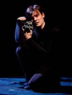 Alex Mills as Hamlet (Photo: Koko Lanham)