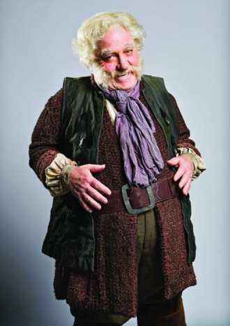 Stacy Keach as Falstaff, Shakespeare Theatre Company production 2014 (Photo: Scott Suchman)
