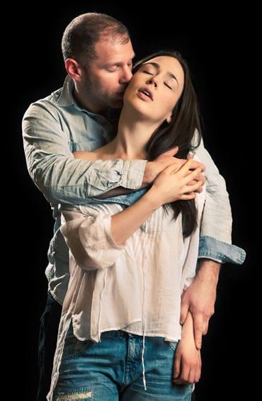 Laura C. Harris and Elan Zafir (Photo: Christopher Mueller)