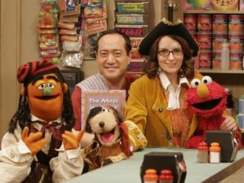 On Sesame Street: Alan Muraoka and Tina Fey