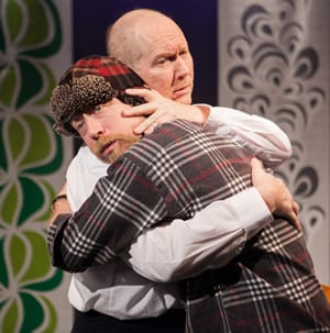(l-r) James Konicek as Kjell Bjarne and Bill Largess as Elling (Photo: C. Stanley Photography)