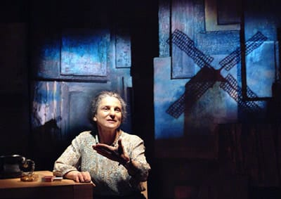 Tovah Feldshuh as Golda Meir in Golda's Balcony (Photo: Aaron Epstein)