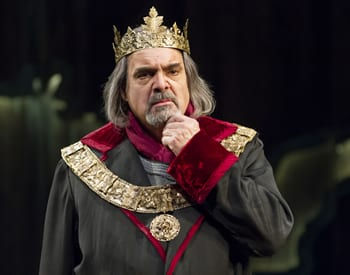 Edward Gero as King Henry IV in the Shakespeare Theatre Company production of Henry IV, Part 1, (Photo: Scott Suchman.)