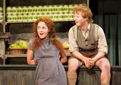 Sarah Greene and Conor MacNeill as sister and brother Helen and Bartley (Photo: Johan Perrson)