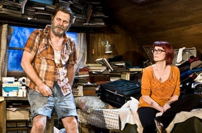 Nick Offerman and Megan Mullally (Photo: Monique Carboni.)