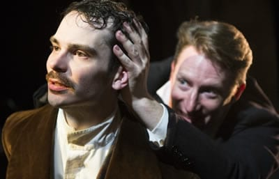 James Flanagan as Polidori and Dan Crane as Shelley (Photo: Teresa Castracane)