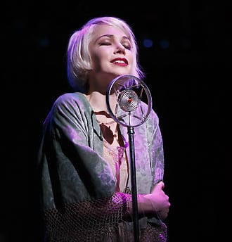 Michelle Williams as Sally, 2014 Broadway production (Photo: Joan Marcus)