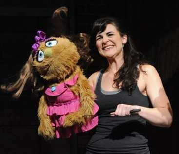 Rachel Zampelli as Kate Monster (Photo: Stan Barouh)