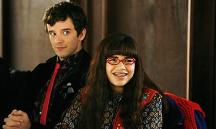 Ugly Betty stars: Michael Urie and America Ferrara