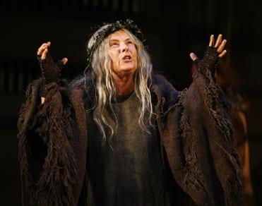 Tana Hicken as Queen Margaret, Richard III, Shakespeare Theatre Company, 2007