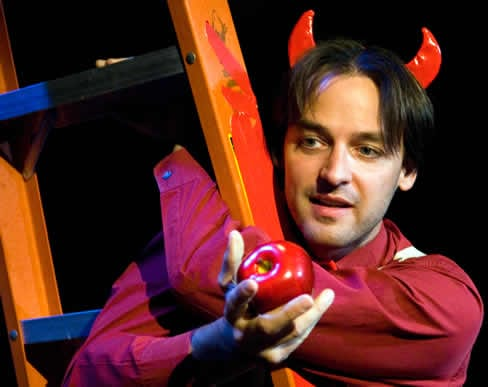 Marcus Kyd in The Devil In His Own Words (Photo: Scott Suchman)