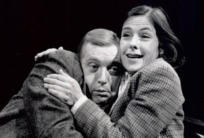 Ralph Cosham and Tana Hicken in The Revengers' Comedies at Arena Stage (1994)