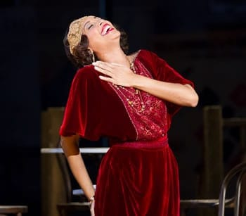 Domingo-Cafritz cast: Jacquelline Echols as Musetta (Photo: Scott Suchman)