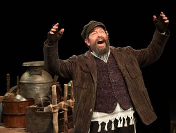 Jonathan Hadary as Tevye in Fiddler on the Roof (Photo: Margot Schulman)