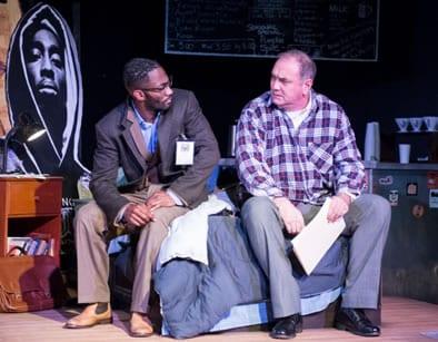 (l-r) David Lamont Wilson and Elliott Bales. (Photo: Teresa Castracane)