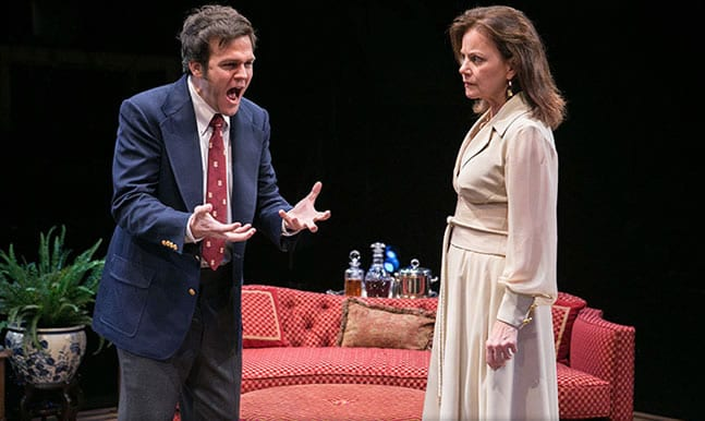 Michael Simpson and Margaret Colin in City of Conversation at Arena Stage (Photo: C. Stanley Photography)