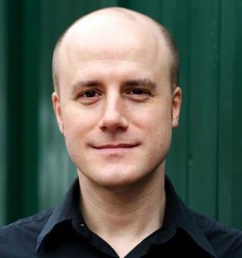 John Geoffrion, Artistic Director of the Hub Theatre Company of Boston